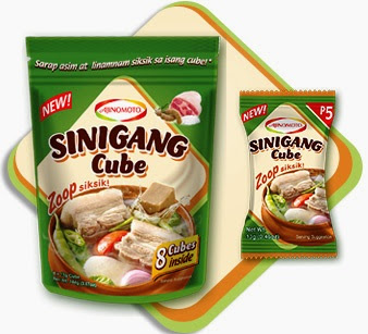 Sour-Savory Goodness of the new AJI-SINIGANG® Cube, reinvents Pinoy Sinigang
