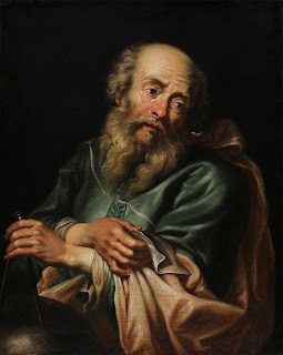 The 1630 portrait of Galileo by Peter Paul Rubens resides in a private collection
