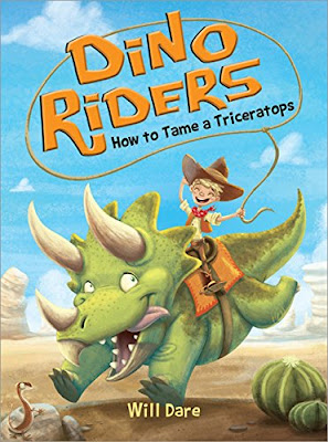 Dinosaurs meet the old west in How to Train a Triceratops! This adventurous chapter book is the perfect mashup of cowboys and dinosaurs.