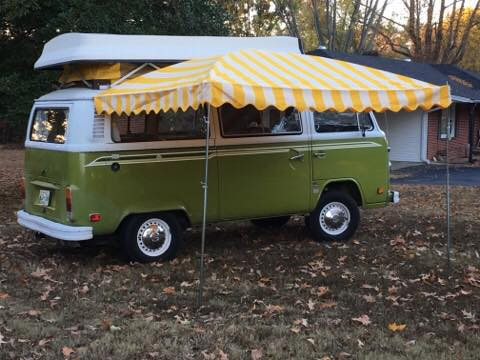Vintage Awnings: Westfalia VW Bus Awnings