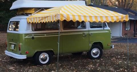 Vintage Awnings: Westfalia VW Bus Awnings