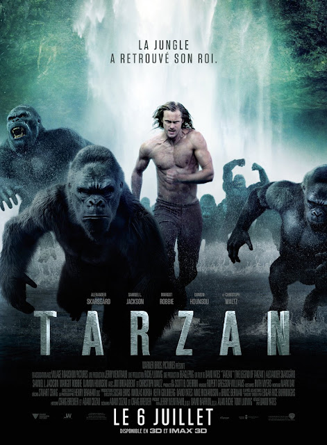 The Legend of Tarzan (2016) 350MB 480P HDRip Dual Audio [Hindi-English]