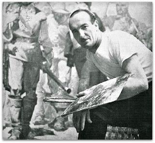 O Pintor Aldo Daniele Locatelli