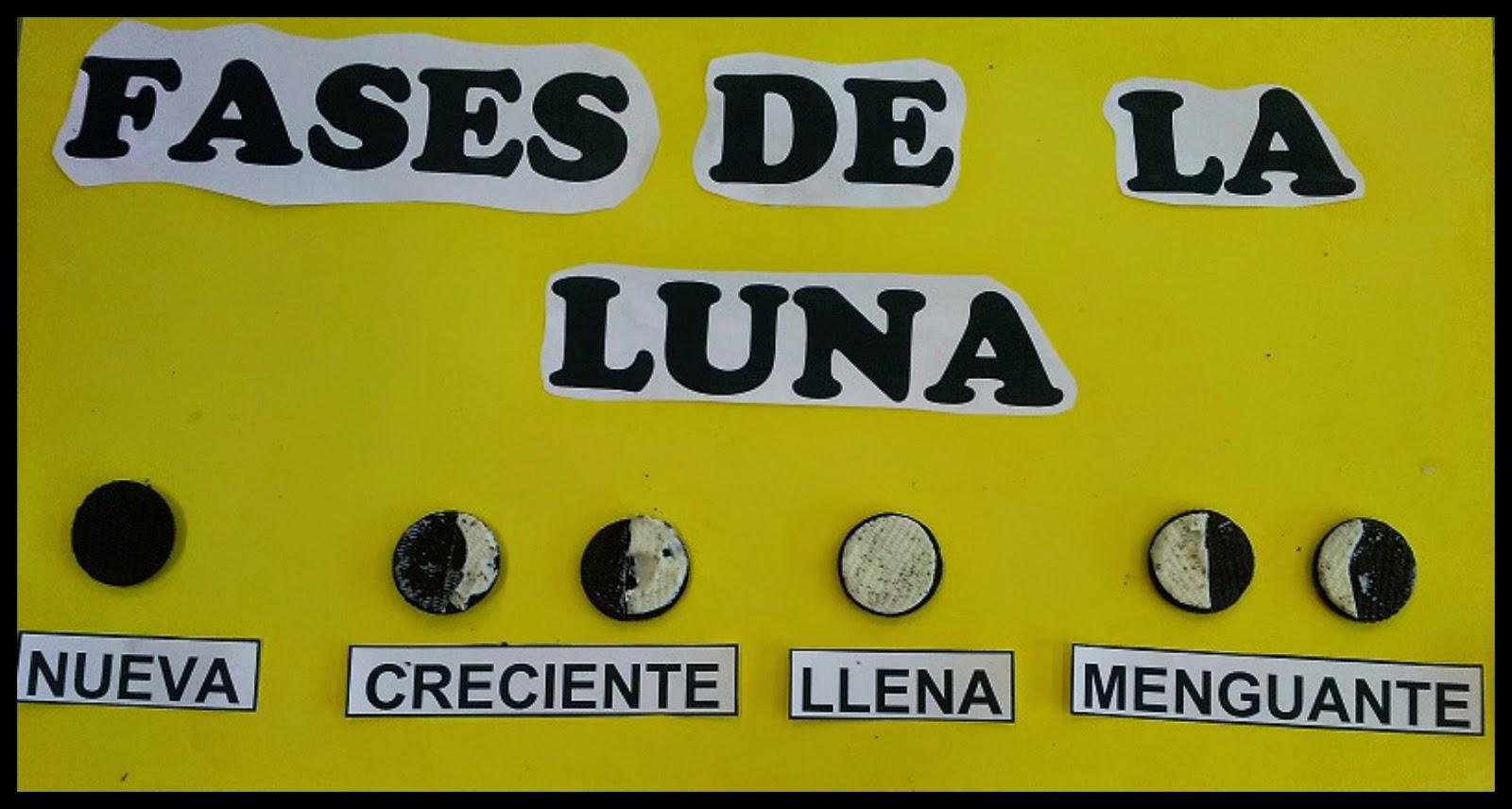 CONECTADOS CON TERCERO: Fases de la luna.