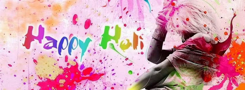 Holi Facebook Cover Photos