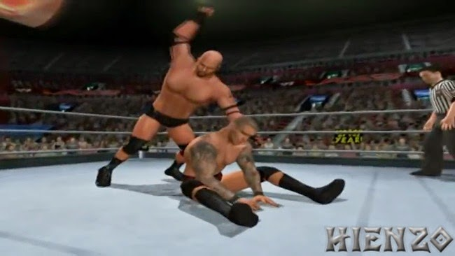 WWE SmackDown vs. Raw 2011 PS2 Gameplay