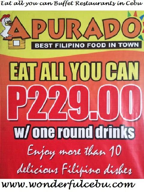 Apurado eat all you can in Cebu