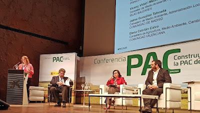Cebrián reivindica 'una PAC mediterránea, para profesionales y jóvenes, que vuelva a conectar con el sector agrario'