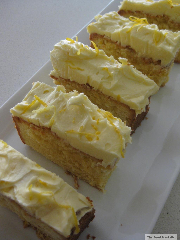 Icing Lemon Pound Cake