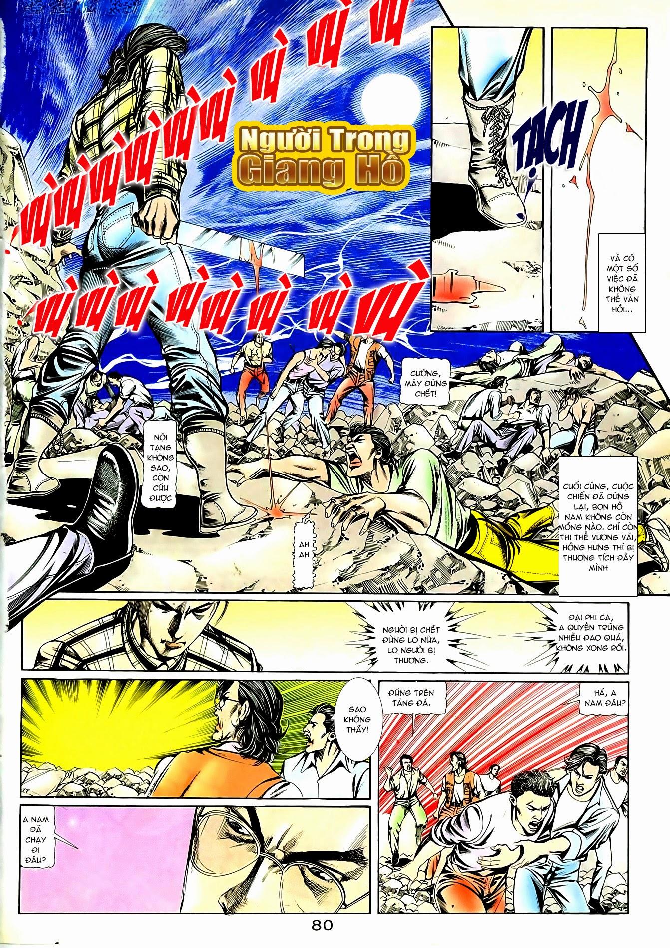 Người Trong Giang Hồ chapter 90: giang hồ hiểm trang 16