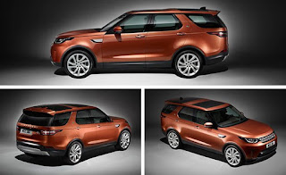 2017 Land Rover Discovery three angle view