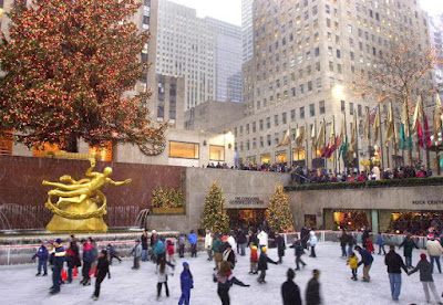 patinoire du Rockefeller Center