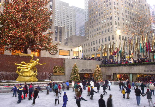 patinoire du Rockefeller Center