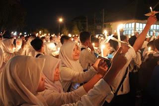 Malam puncak PESTA 2015 - Ospek Universitas Islam Indonesia