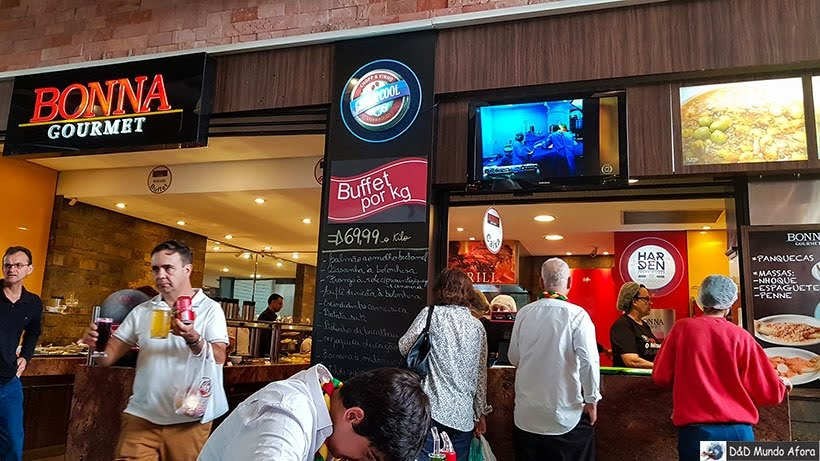 Restaurante Bonna Gourmet no Mercado Municipal de Curitiba