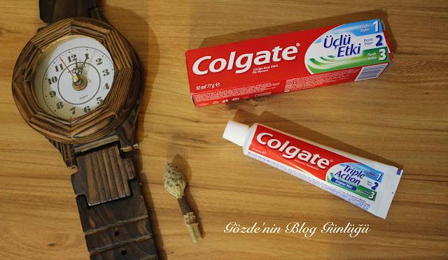 colgate 3 lü etki diş macunu