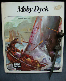 Portada del libro Moby Dick, de Herman Melville