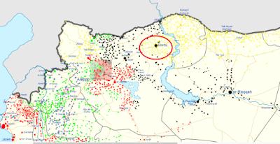 هێزەکانی سوریای دیموکراتی کەمتر لە یەک کیلۆمەتریان ماوە بگەنە شارۆچکەی مەنبەج