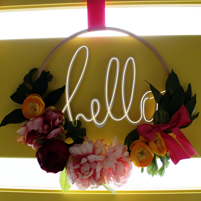 Heidi Swapp Neon wall words