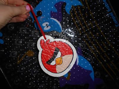 LULA Gąbka do kąpieli dla dzieci ANGRY BIRDS