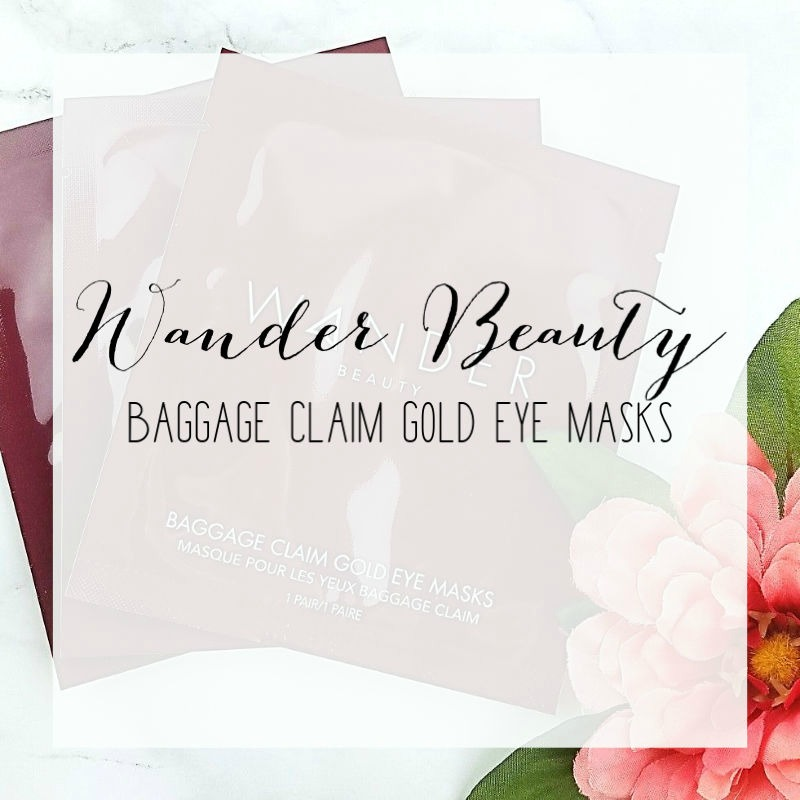 For the Prettiest Peepers try Wander Beauty Baggage Claim Gold Eye Masks
