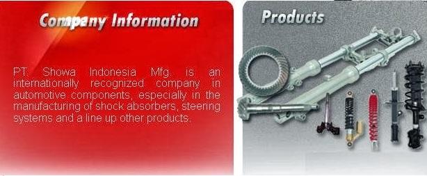 Info Lowongan PT SHOWA INDONESIA MANUFACTURING Jababeka Industrial