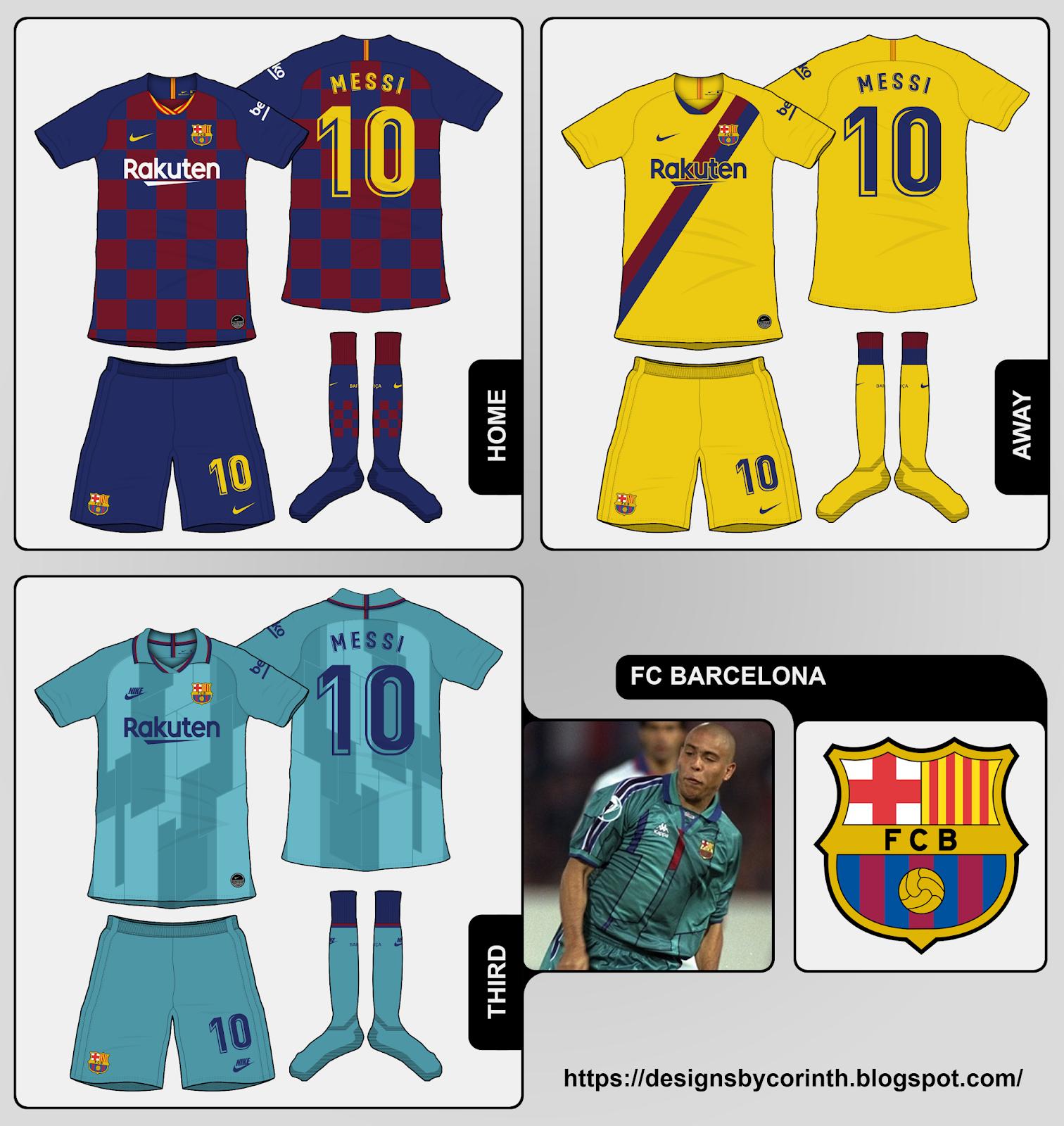 b267b29024f Barcelona 2019-20 kit predictions (based on leaks)