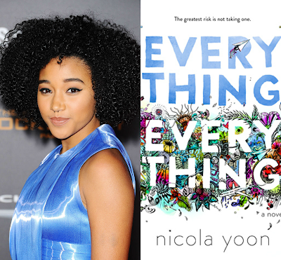 amandla stenberg hunger games rue everything everything nick robinson nicola yoon