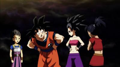 Dragon Ball Super Goku Caulifla Kyabe Kale