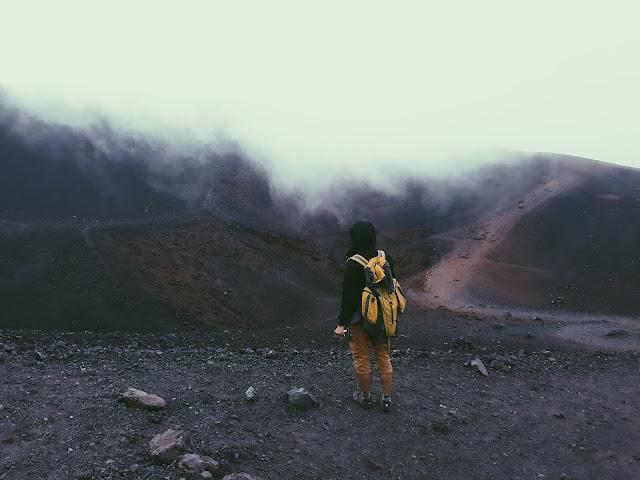 Etna krater Torre del Filosofo