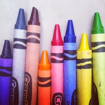 the infinite possibilities found in a box of crayons
