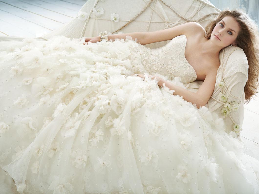 Lace Ball Gown Wedding Dresses: WhiteAzalea Ball Gowns: Lace Wedding Ball Gowns
