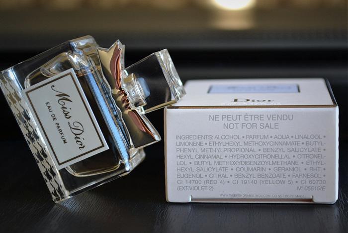 Weekend Ramblings Miss Dior Eau De Parfum Perfume Review