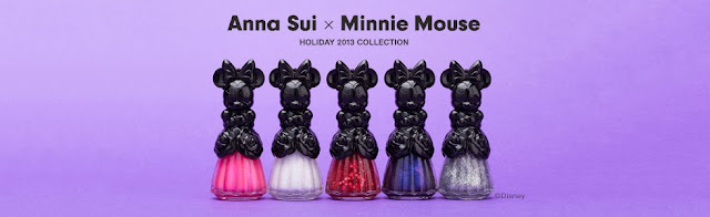 Limited Edition - Anna Sui x Minnie Mouse - Noël 2013