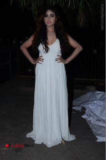 Telugu Actress Model Sony Charishta Pos in White Long Dress at Nanna Nenu Na Boyfriends Audio Launch  0208.JPG