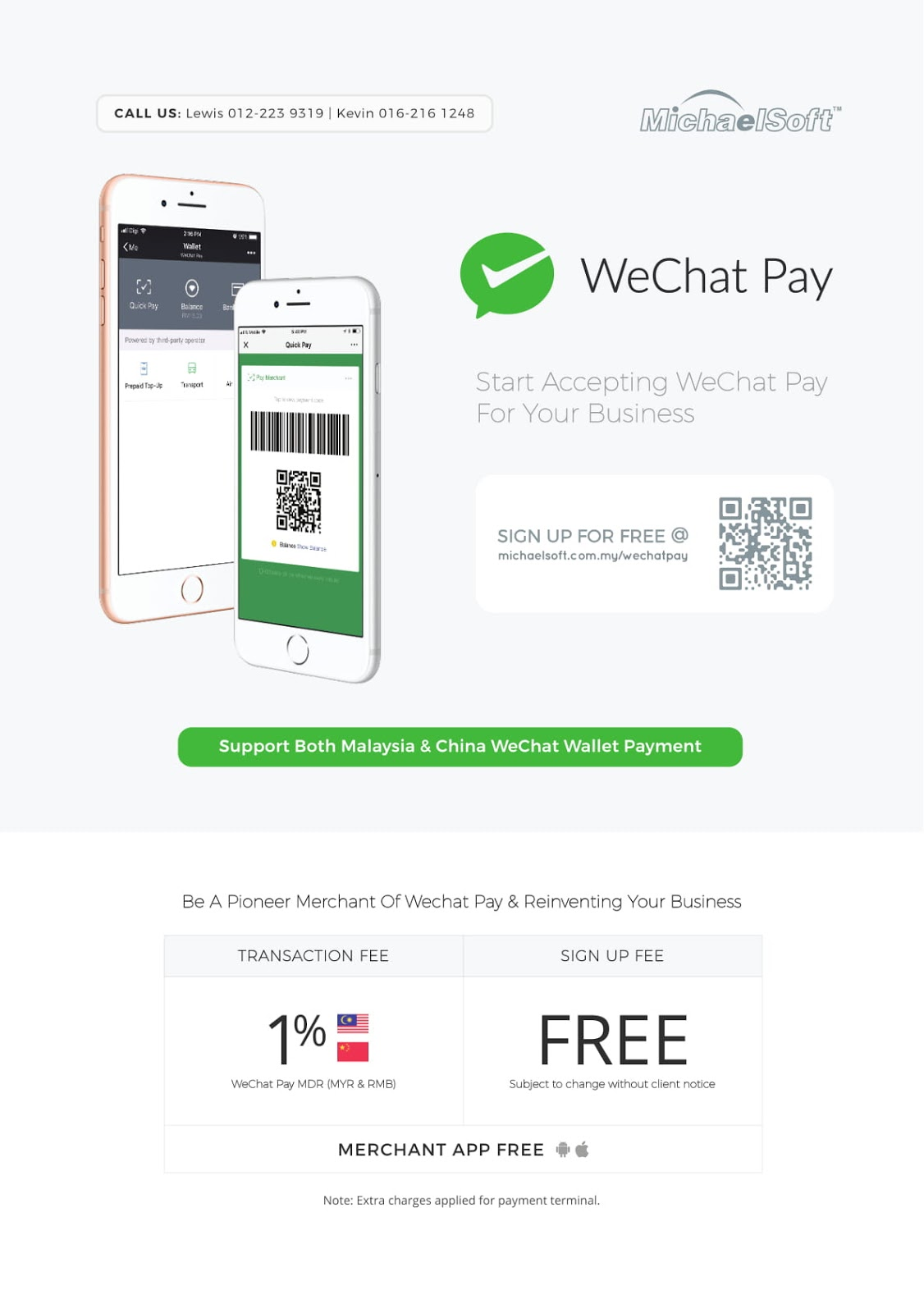 How to receive WeChat-Payment from China and Malaysia, We