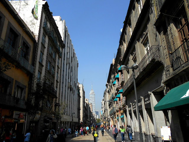The streets of Mexico City