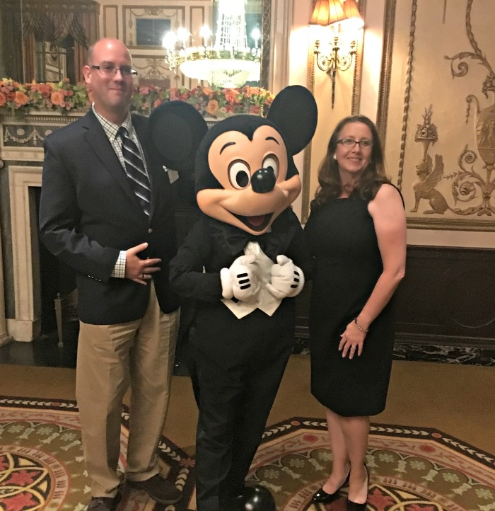 A Little Black Dress is perfect for a night out with Mickey Mouse