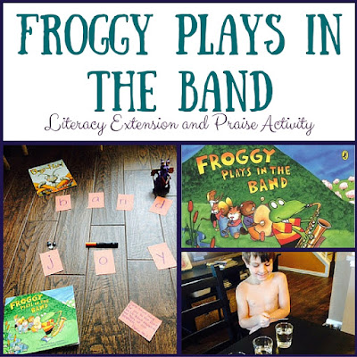 A perfect summer storytime activity for Froggy Plays in the Band!  It includes a literacy extension, memory verse, and praise activity!