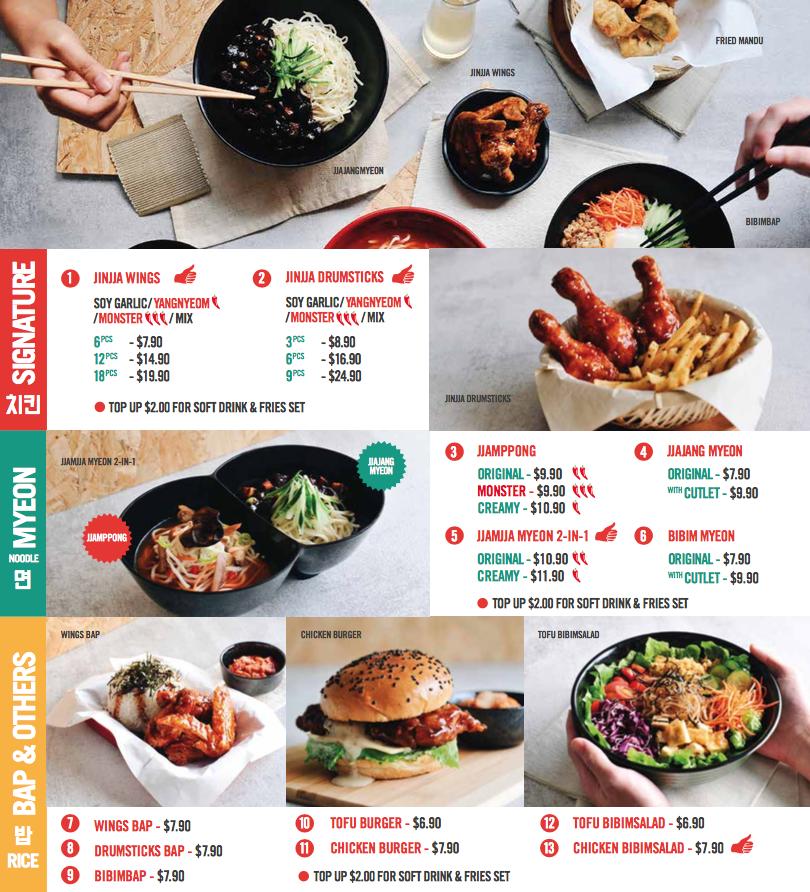 Bugis food promotional giveaways