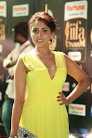 Madhu Shalini Looks Super Cute in Neon Green Deep Neck Dress at IIFA Utsavam Awards 2017  Day 2  Exclusive (53).JPG