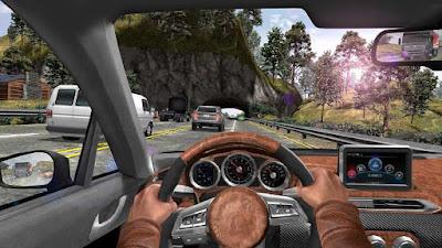 Screenshot Car In Traffic 2018 MOD APK