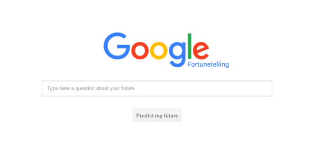 Google Palsu Klaim Dapat Meramal Masa Depan