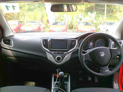 Interior Baleno Hatchback