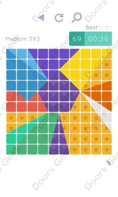 Cheats, Walkthrough for Blocks and Shapes Medium Level 393