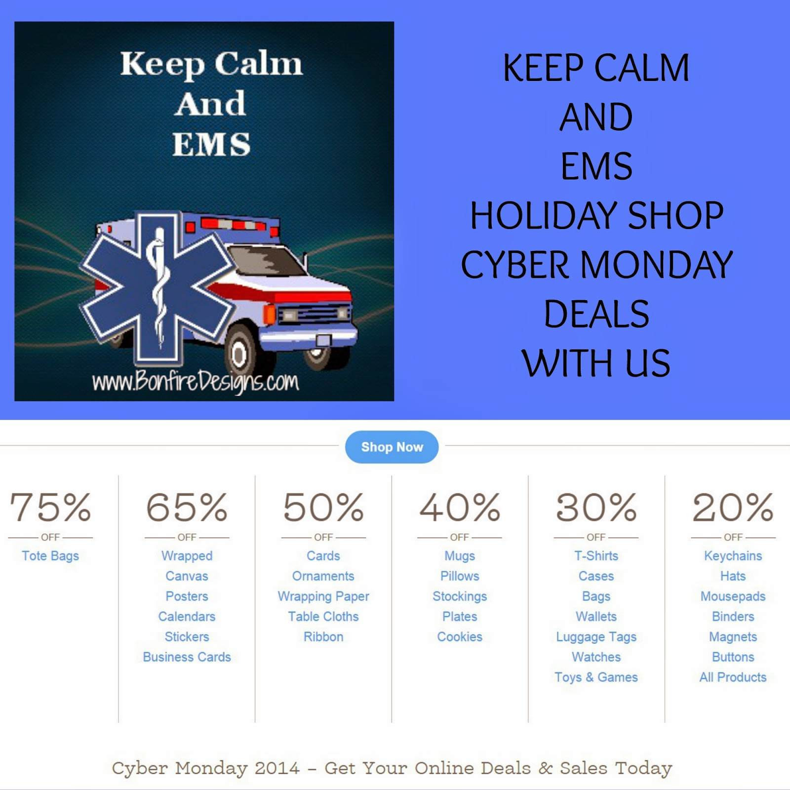 EMS EMT and Paramedic Cyber Monday