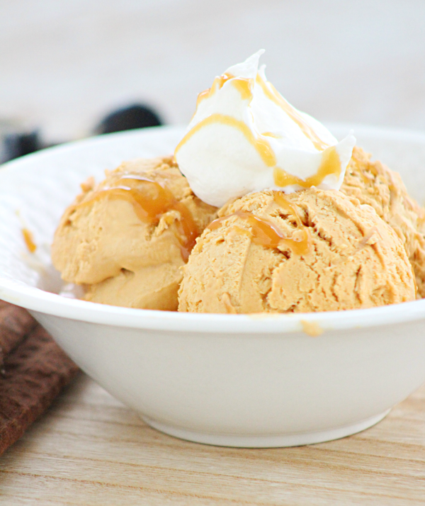 No Churn Dulce de Leche Ice Cream