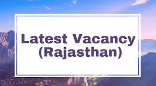 RSMSSB Rajasthan Recruitment 2018