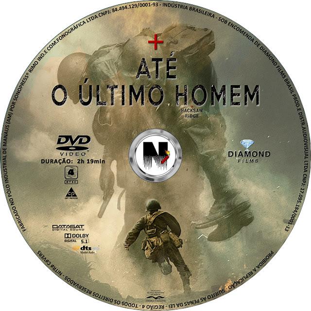 Label DVD Até O Último Homem