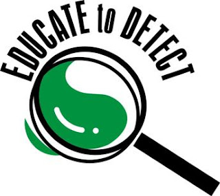 The educate to detect logo